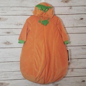 Hallow's Eve Pumpkin Costume Size 0-6 Months